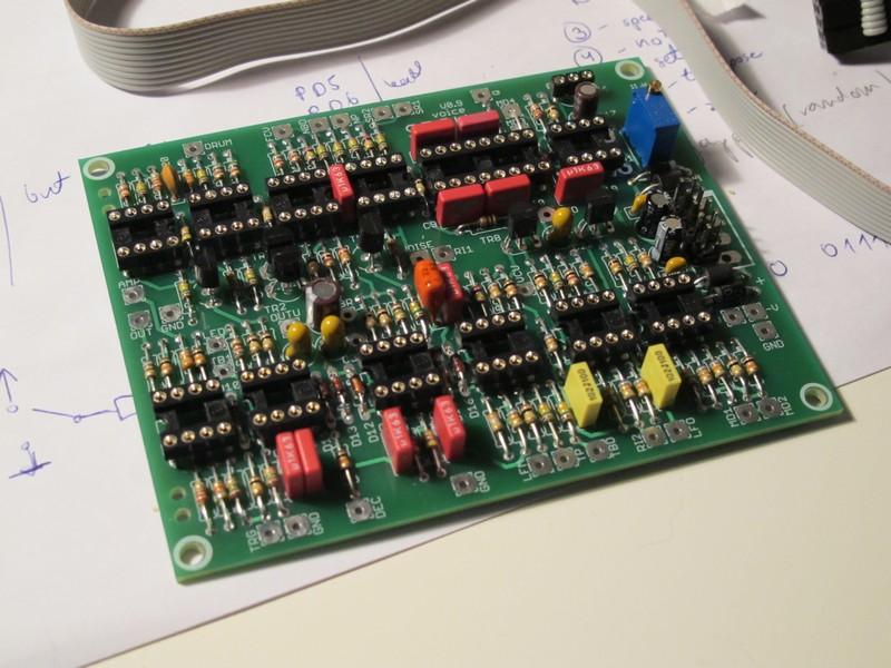 SDSV PCB