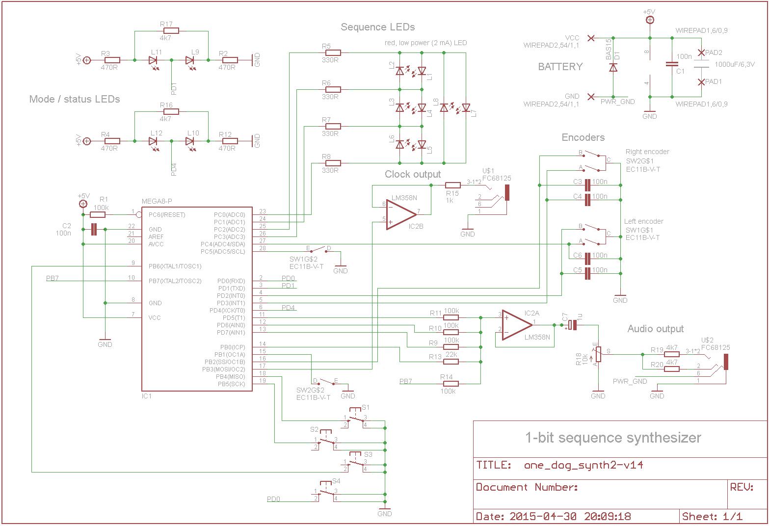 OneBiter schematics