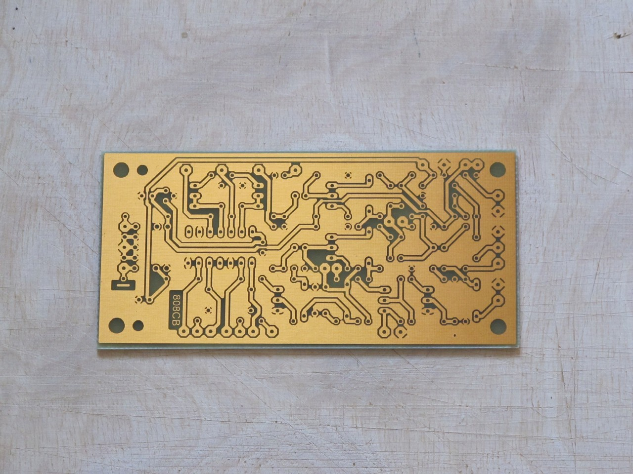 CB808 etched PCB