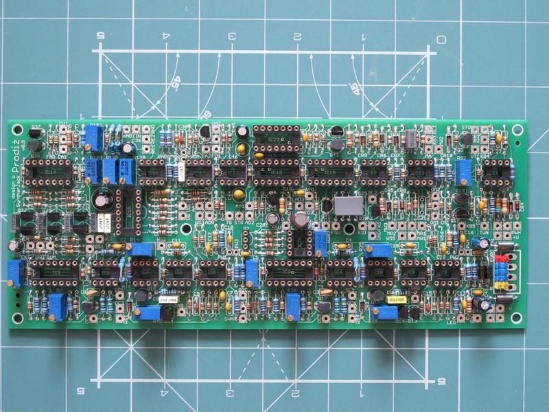 """Prodiż"" sound module PCB"