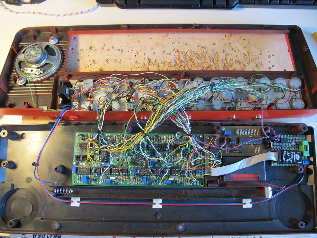 """Prodiż"" front panel wiring"