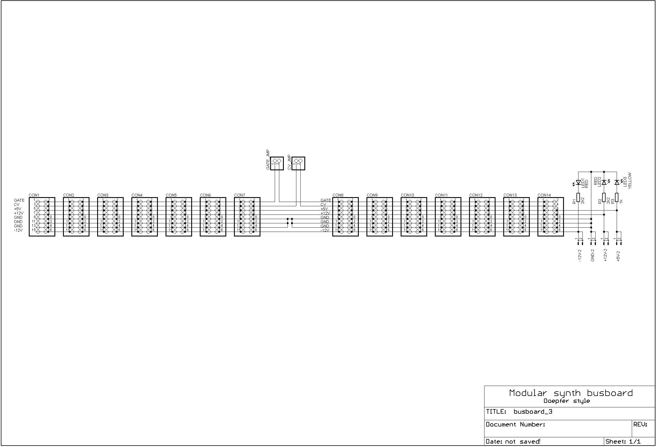 Busboard schematics