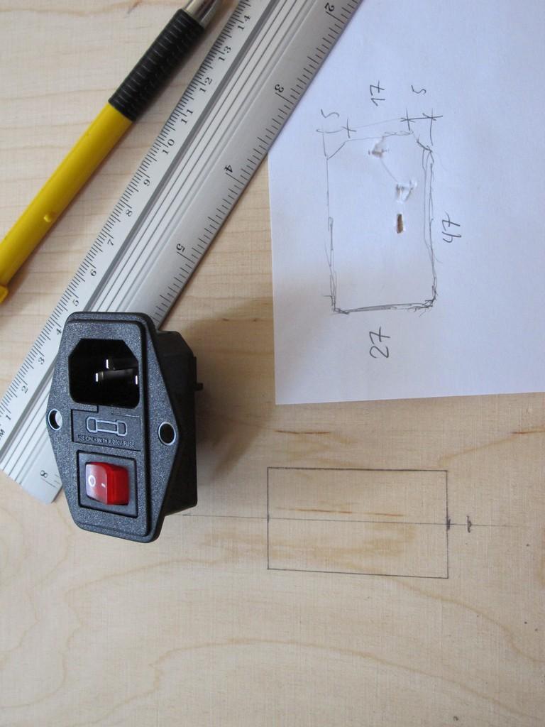 PSU socket measurements
