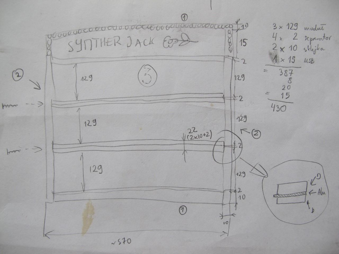 Modular case first plans