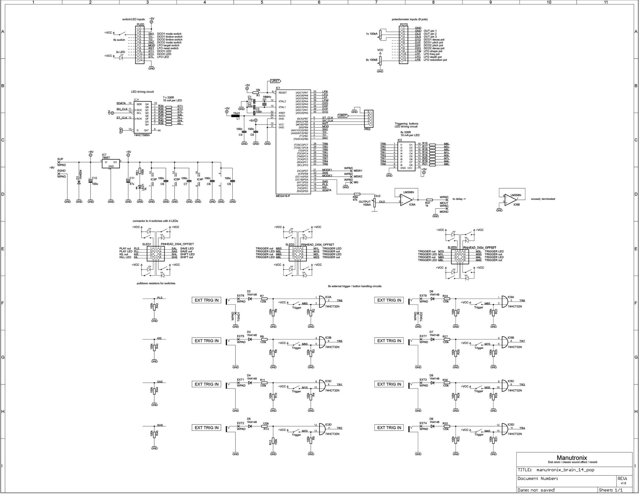 Manutronix full schematics