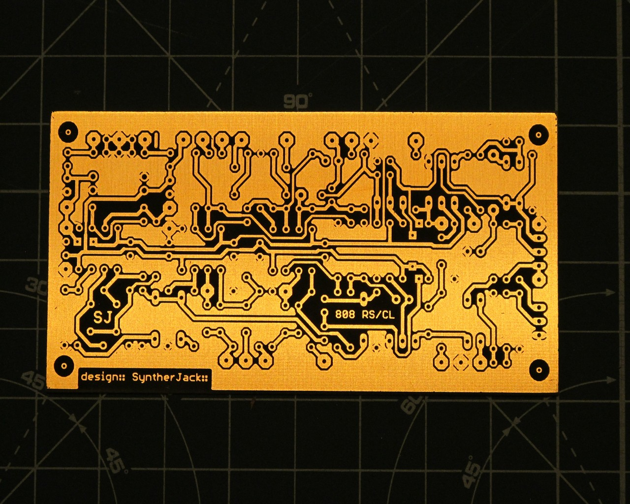 The rimshot / clave PCB. Pure gold!