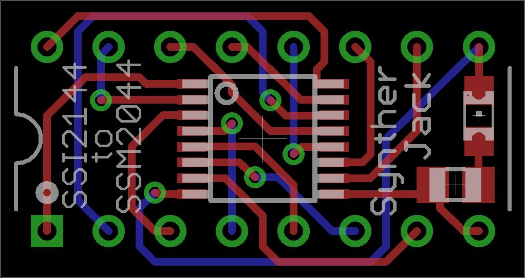 SSI2144 converter PCB design