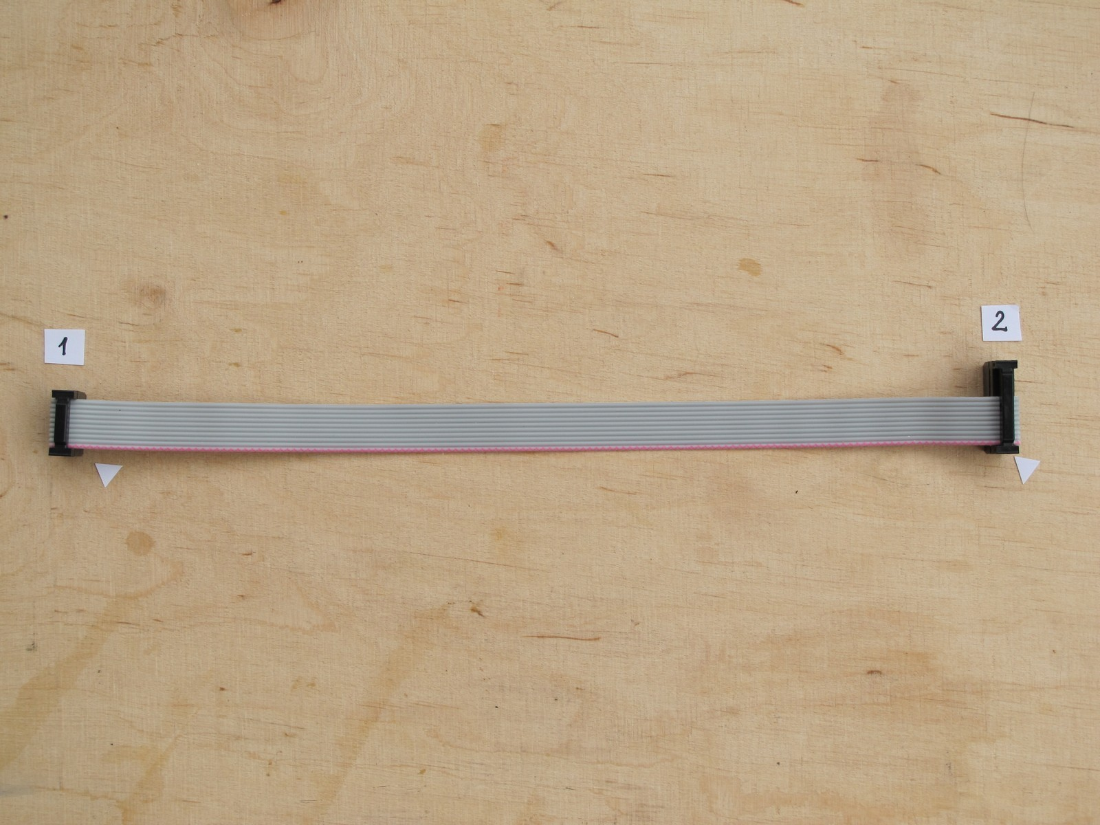 Finished ribbon cable