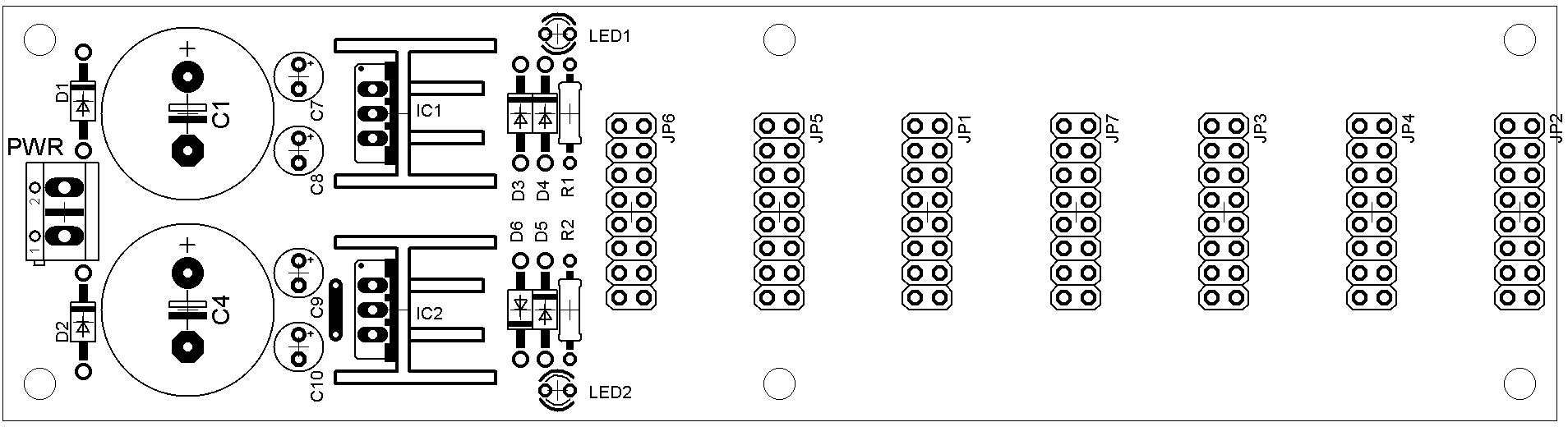 Mini PSU PCB TOP layer