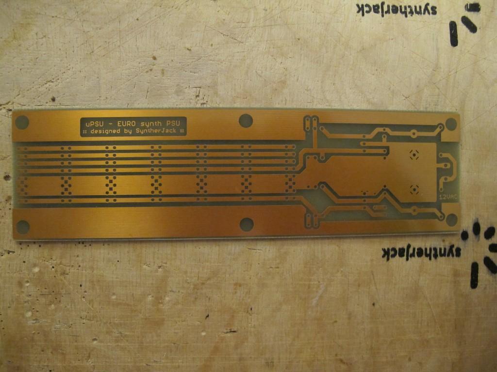 Mini PSU PCB