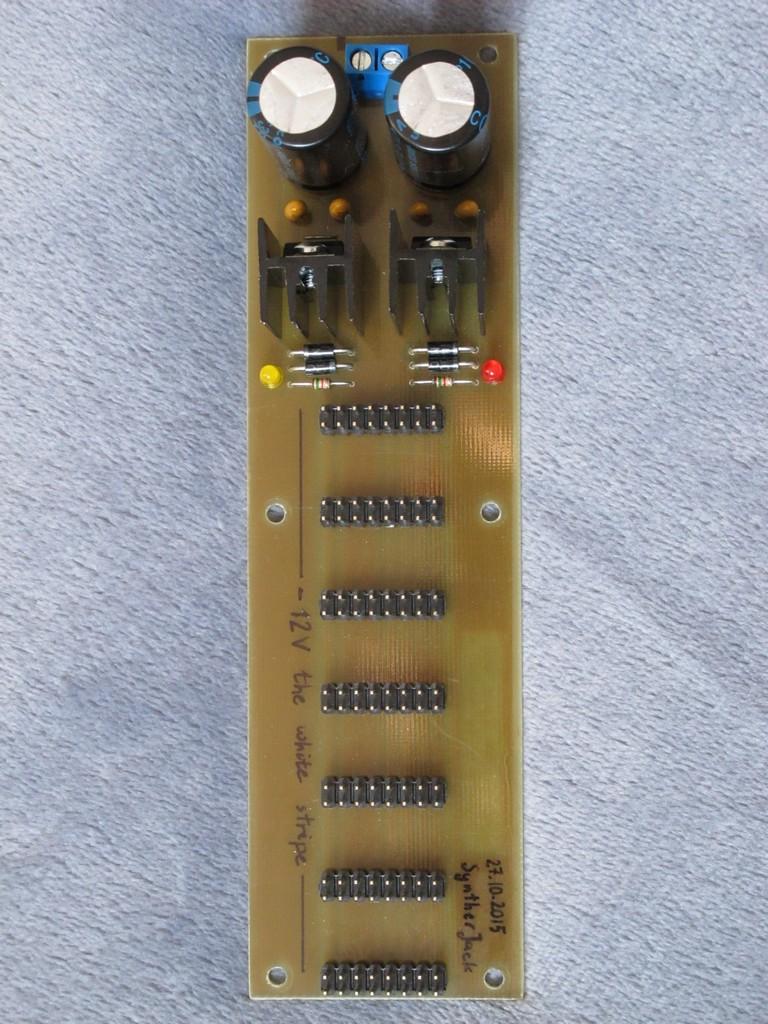 Modular Synth Wall Wart Psu Syntherjack Circuit Power Supply Regulator 15v 1a By Ic 7815 7915 Hd Walls Mini Top View