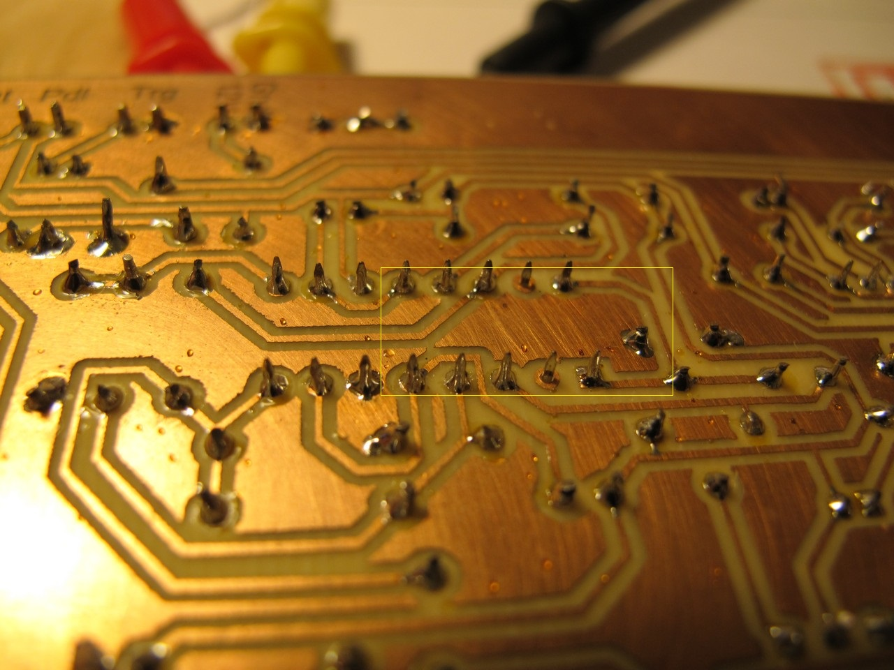 Syntom II - ground fill PCB errror