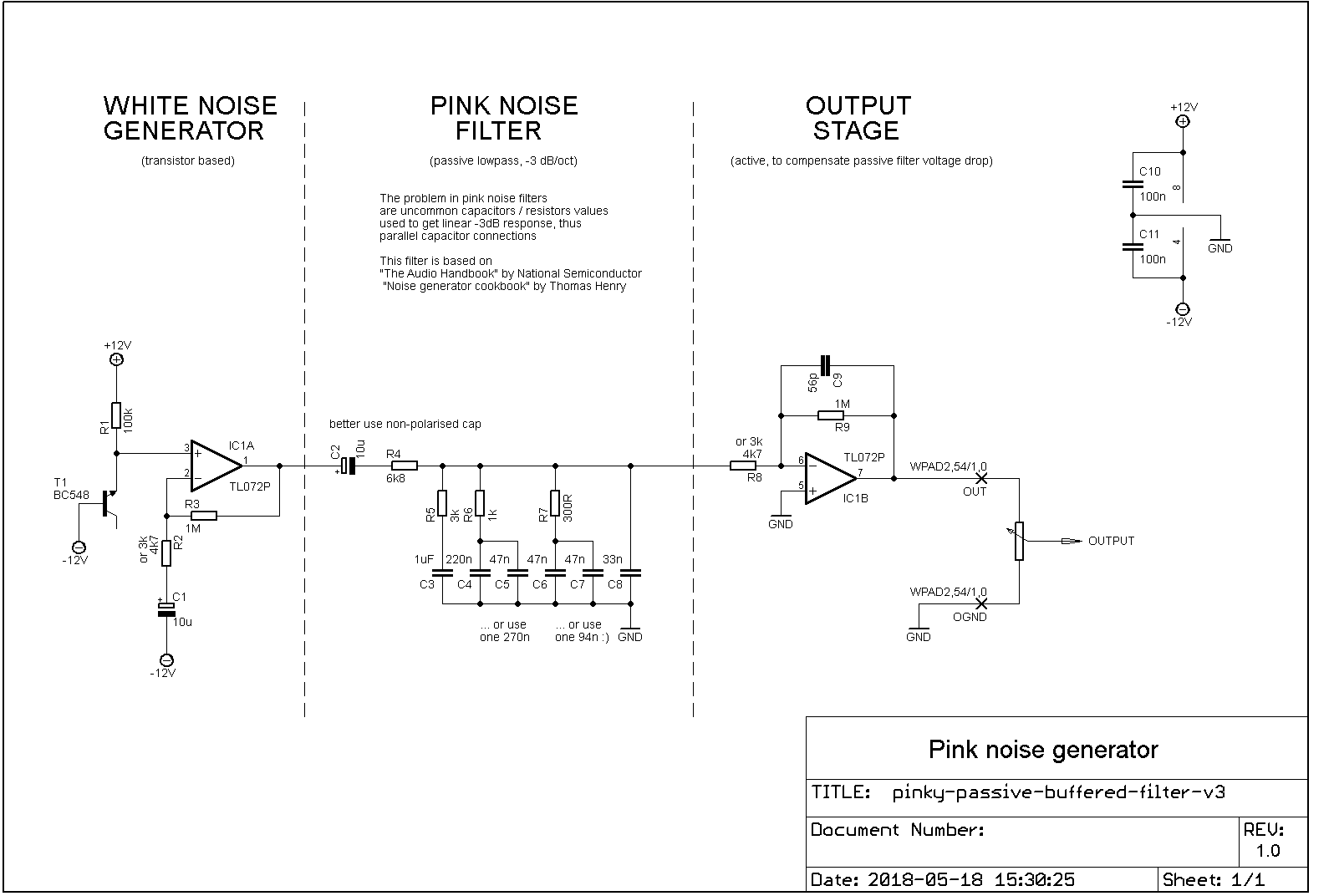 Noise Generator Schematic Trianglewave 1 Circuit Diagram Tradeoficcom Pink Passive Filter Syntherjack 1596x1072