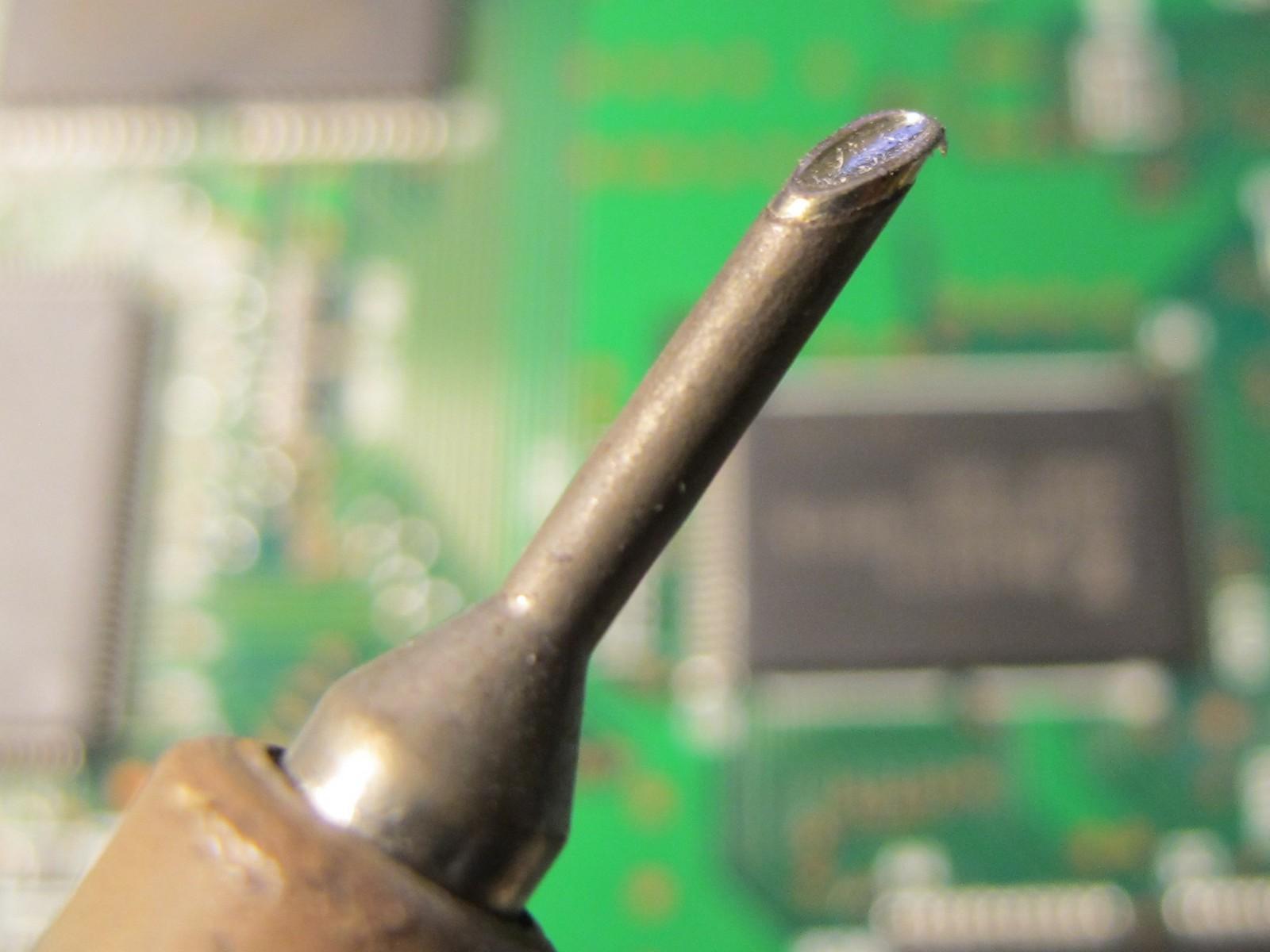 Miniwave solder iron tip