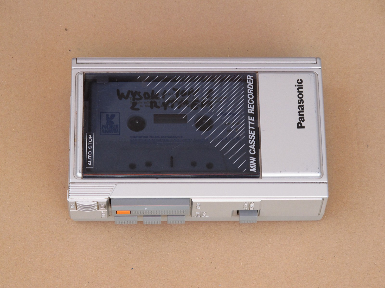 Panasonic RQ340 cassette player