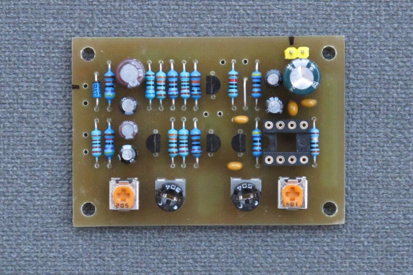Glidophones main PCB