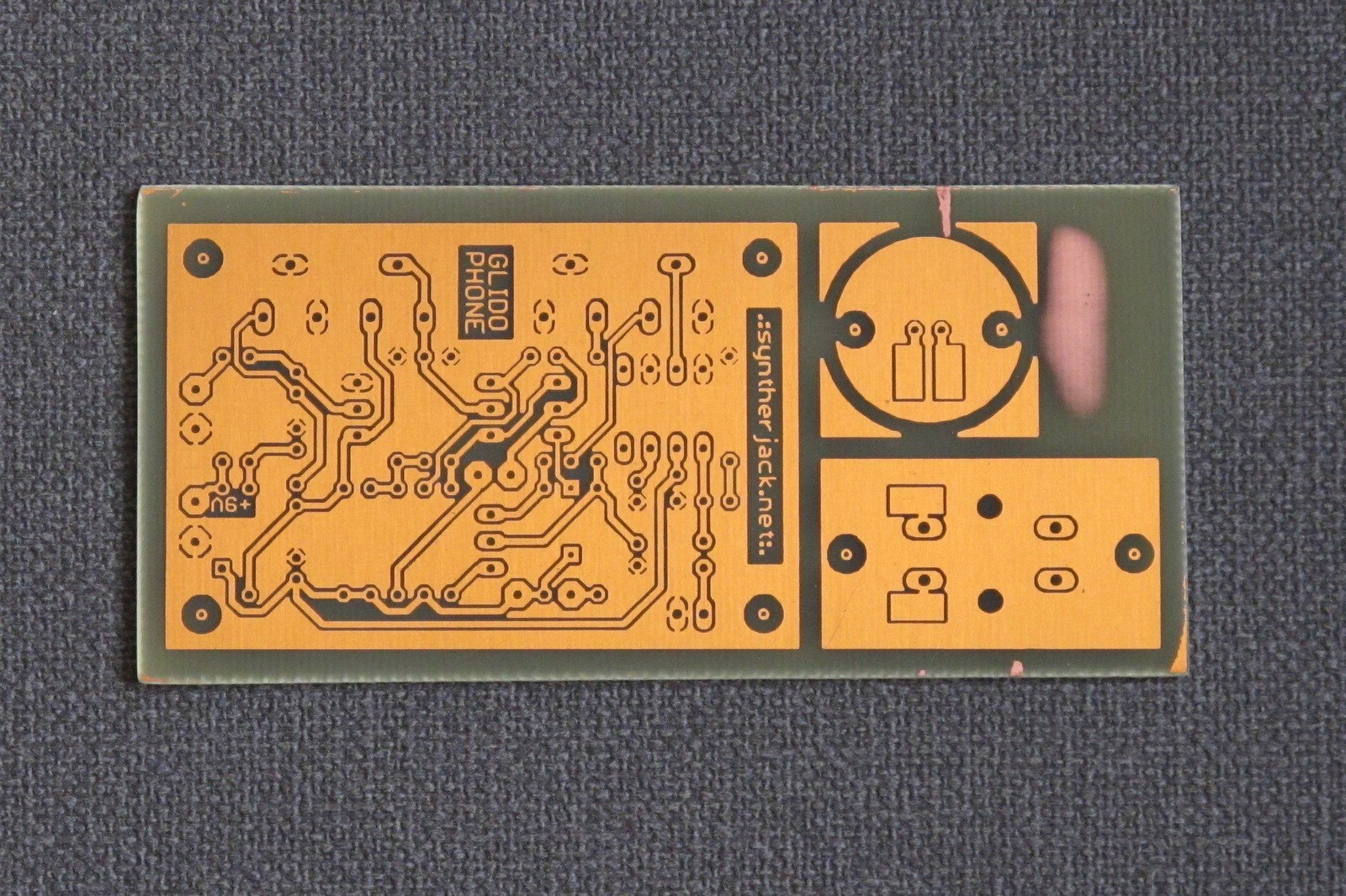 Etched Glidophone PCBs