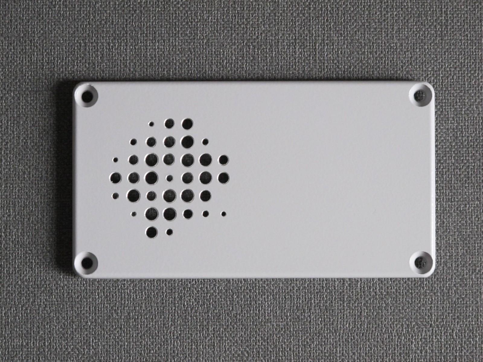"""Drilled speaker """"cover"""""""