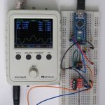 Scope with protoboard