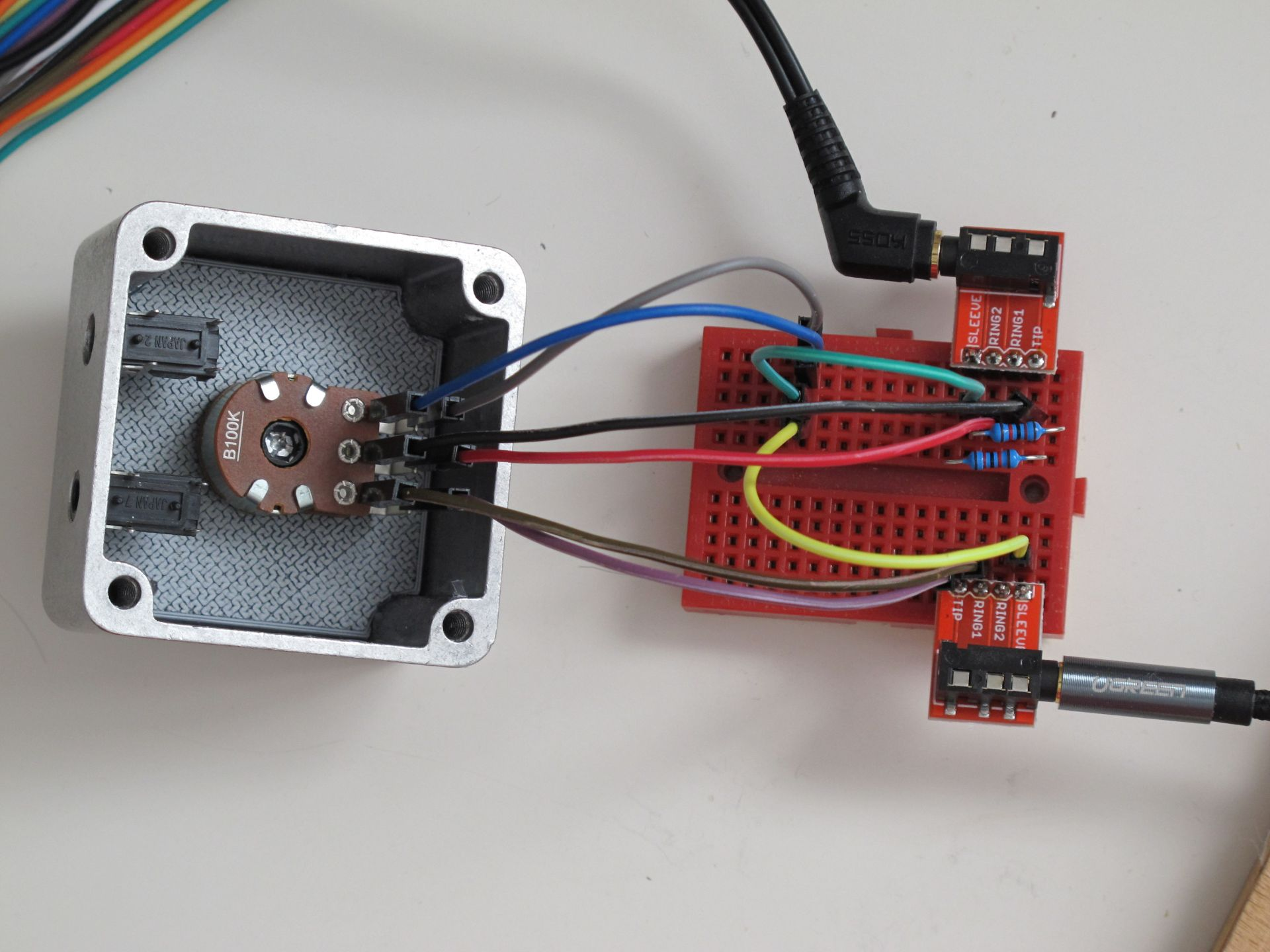 Quick tests of the device before soldering