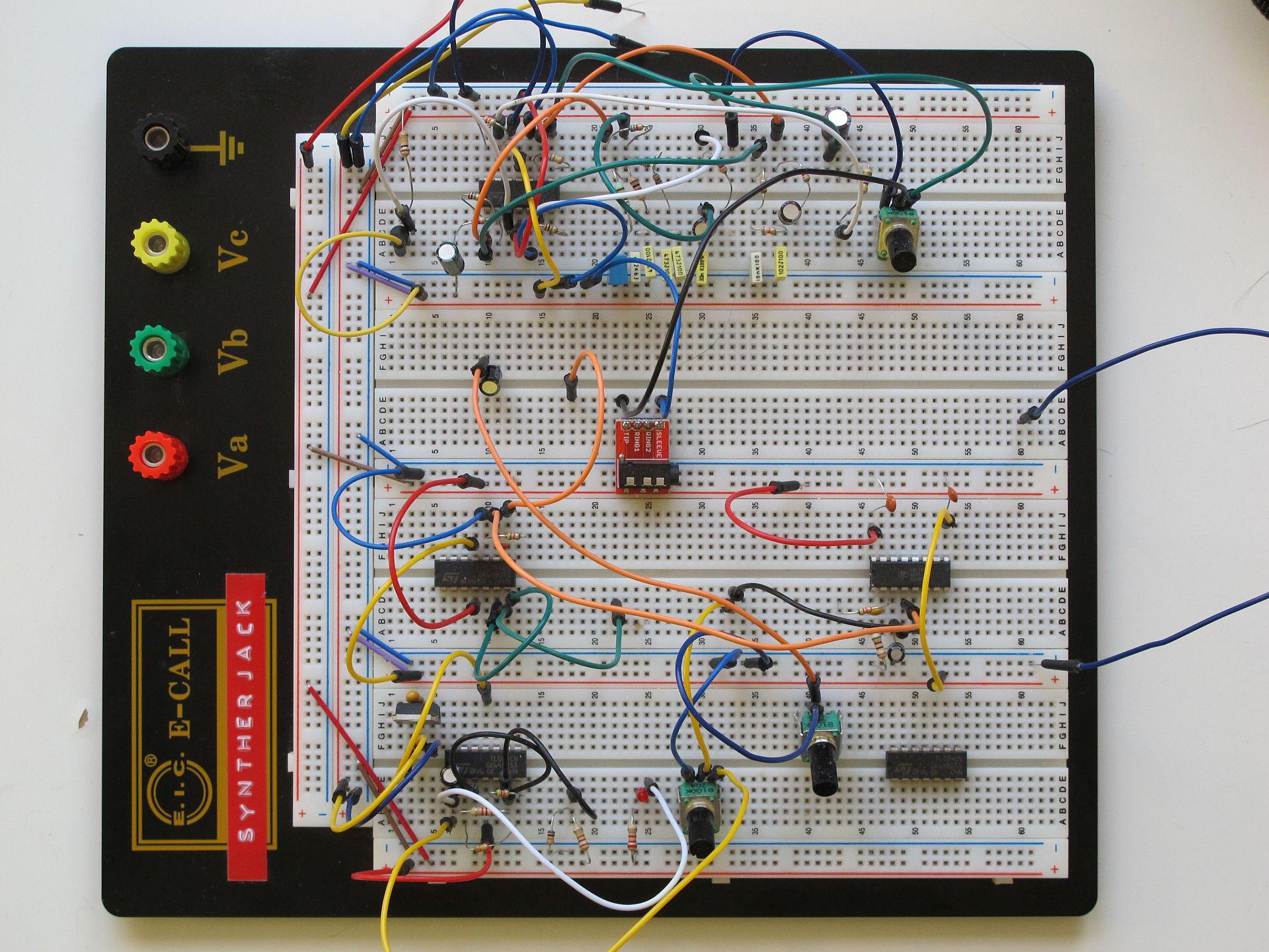 Ocean Noise Generator prototype