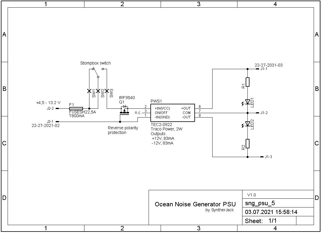 PSU schematic